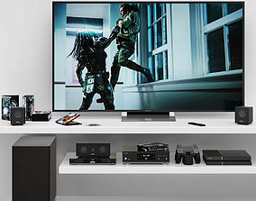 3D TV decorative set