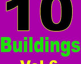 3D model 10 Architectural Buildings