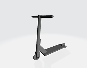 4th Scale Fully Printable Freestyle Scooter Model Toy