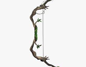 forest bow 3D asset