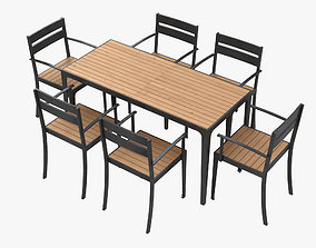 Garden Furniture 003 3D model