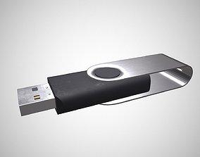 3D model realtime USB Flash drive