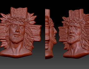 art 3D print model jesus