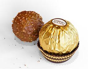 Ferrero Rocher with Package 3D PBR