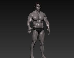 Arnold Schwarzenegger 1991 Arrival version 3D model