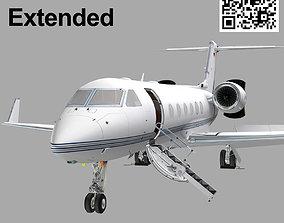 3D asset Gulfstream G450 Extended