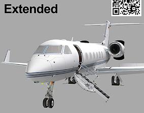 Gulfstream G450 Extended 3D model