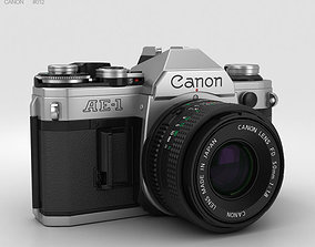 photo Canon AE-1 3D