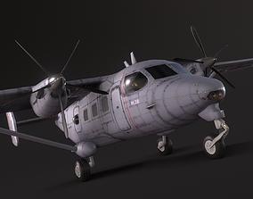 3D asset PZL M28 Bryza -Skytruck