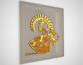 Horoscope 3D asset