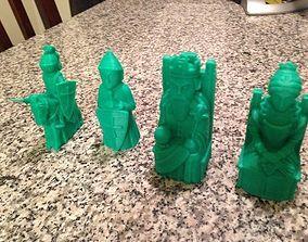 bishop 3D printable model Chess Set