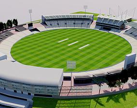3D model Rose Bowl Cricket Ground - England