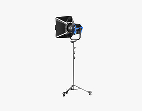 3D Arri L-Series L10-C with Stands and Bandoor