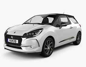 3D model DS3 Performance Line hatchback 2016