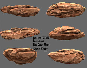 3D asset Rock Set