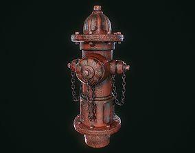 3D asset Vintage Fire Hydrant
