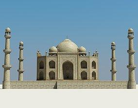 exterior Taj Mahal 3D model
