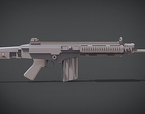 3D printable model FN FAL CARBINE
