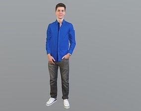 character No137 - Male Standing 3D model