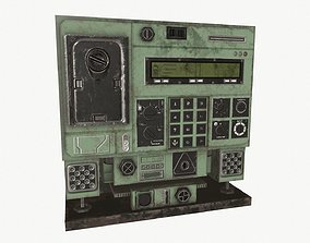 3D model game-ready Radio unit