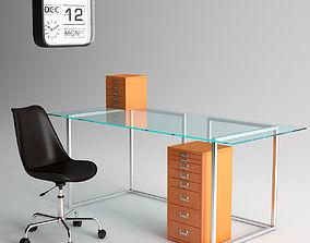3D model Habitat Office Furniture