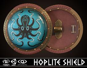 Hoplite Shield Octopus 3D model