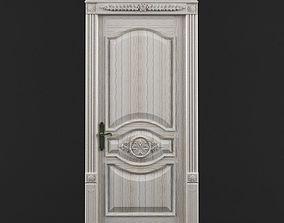 wood door 900x2100 3D model