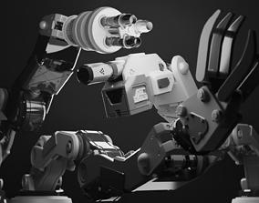 set robot - turret 3D