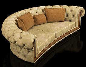 visionnaire jackpot arc sofa 3D model