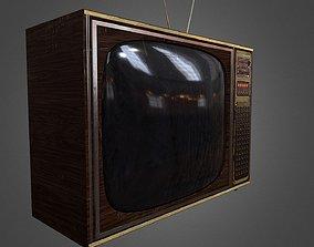 Soviet TV 3D model