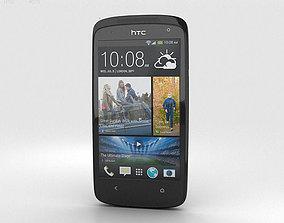 3D HTC Desire 500 Lacquer Black