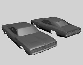 Dodge Charger 1969 Body Model Printable