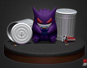 pokemon Gengar 3D print model