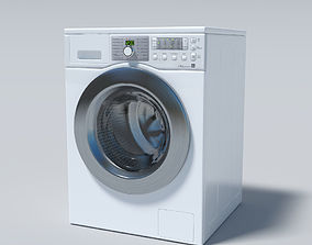 Washing machine cleaning 3D
