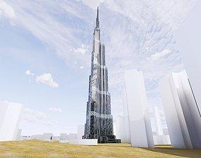 3D model mrakodrap Burj Khalifa