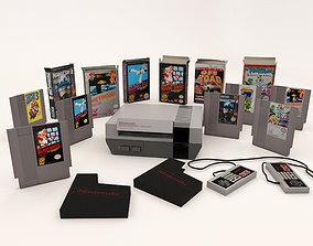 Nintendo Entertainment System Plus Games Pack 3D model