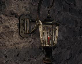3D Gothic Lamp