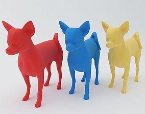 Chihuahua Dog 3D Model