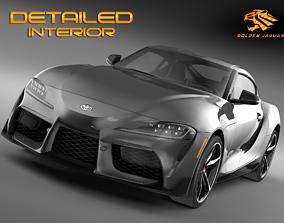 3D model Toyota Supra GR 2020