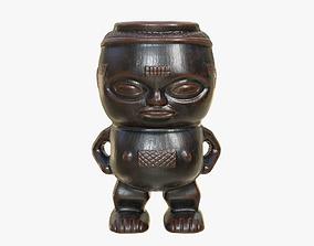 3D asset Kuba Tribe Cup - DR Congo