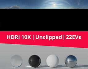 3D model HDRi Sky 020