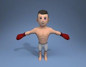 3D model Boxer Fighter