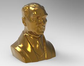 3D asset Mustafa Kemal Ataturk Effigy