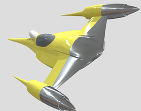 3D model N1 Naboo Starfighter