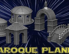 3D print model Baroque planet