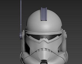3D printable model Star Wars Clone Commander Wolffe 2