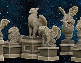 Sculptures Pack 3D model