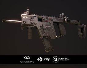 Kriss Vector 3D model game-ready