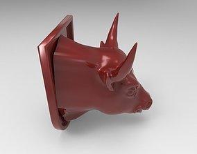 Bull Print 3d model 3