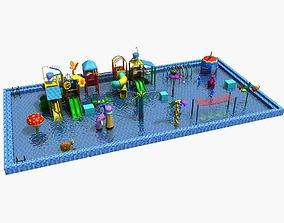 3D model Amusement Park 30 - Water Park